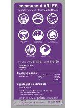 Consultez l'affiche des risques majeurs sur la commune d'Arles